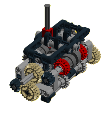 6-speed gearbox bild
